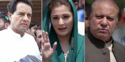 نواز، مریم، صفدر کی سزا کیخلاف اپیل: لاہور ہائیکورٹ نے نیب سے جواب طلب کرلیا