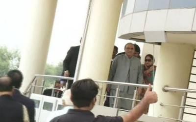 سابق صدرآصف علی زرداری اورفریال تالپورایف آئی اےاسلام آباد میں پیش