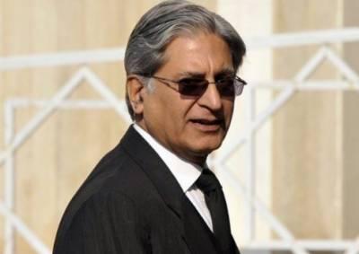 پاکستان پیپلز پارٹی کی جانب سے اعتزاز احسن نے صدارتی انتخاب کیلئے کاغذات نامزدگی جمع کرا دئیے