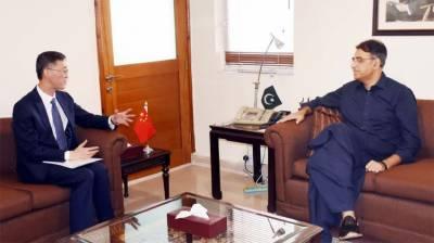 سی پیک دو طرفہ تعلقات کو مستحکم بنانے میں اہم کردار ادا کریگا،اسد عمر