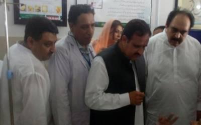 وزیر اعلیٰ پنجاب اچانک تحصیل ہیڈ کوارٹرز ہسپتال میاں چنوں پہنچ گئے