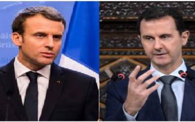 بشار الاسد انتظامیہ کی حمایت ایک تباہ کن غلطی ہو گی۔ فرانسیسی صدر