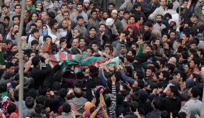 مقبوضہ وادی کشمیر میں درندہ صفت بھارتی فوج کی ریاستی دہشت گردی کا کا سلسلہ جاری ہے،