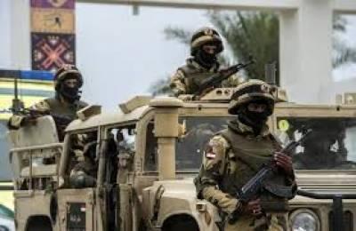 مصری فوج نے مختلف کارروائیوں میں بیس انتہا پسندوں کو ہلاک کردیا