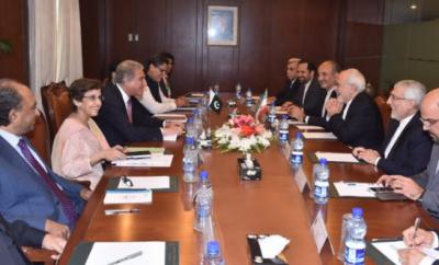 دفتر خارجہ میں پاکستان اور ایران کے درمیان وفود کی سطح پر مذاکرات