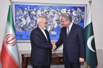ایرانی وزیر خارجہ جواد ظریف نے اپنے پاکستانی ہم منصب شاہ محمود قریشی کو ذمہ داریاں سنبھالنے پر مبارکباد دی ۔