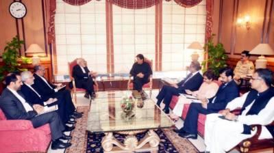 وزیراعظم عمران خان سے ایرانی وزیرخارجہ جواد ظریف کی ملاقات ، دوطرفہ تعاون اور علاقائی سیکیورٹی صورتحال پر تبادلہ خیال