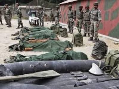 مقبوضہ کشمیر میں قابض بھارتی فوج نے گزشتہ ماہ 34 کشمیریوں کو شہید کردیا