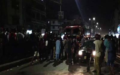 کراچی میں طویل احتجاج پر19گھنٹے بعد بجلی بحال