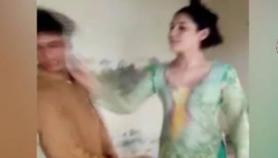 بہاول نگر: بہاول نگر کے علاقے ہارون آباد میں خواجہ سراؤں نے 15 سالہ ملازم لڑکے کو تشدد کا نشانہ بنایا۔