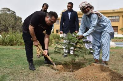 سرسبز وشاداب پاکستان وزیراعظم عمران خان کا عزم ہے:گورنر سندھ