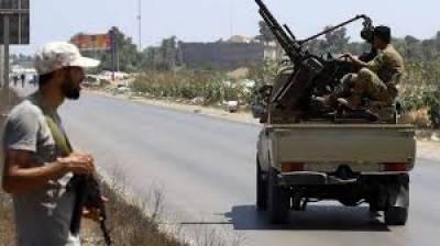 لیبیا کے دارالحکومت طرابلس میں عسکریت پسندوں کے متحارب دھڑوں کے درمیان جھڑپوں میں39 افرادہلاک ہوگئے ہیں