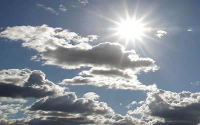 ملک کہیں تیز دھوپ سے تو کہیں ہلکے بادلوں کا راج