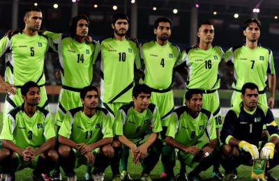 ساف چیمپئن شپ پہلے میچ میں پاکستان فٹبال ٹیم نے اپنی مہم کا فاتحانہ آغاز