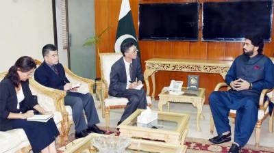 شہریار آفریدی سے چینی سفیر کی ملاقات، تعلقات کو مزید فروغ دینے پر اتفاق