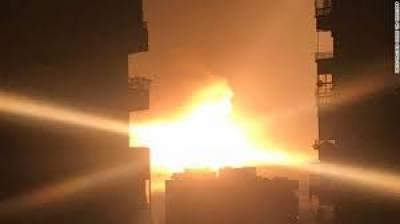 روسی طیاروں کی ادلب میں باغیوں کے ٹھکانوں پربمباری