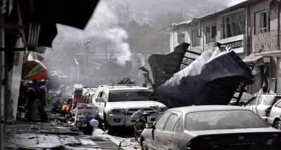 افغان دارالحکومت کابل میں دو خود کش دھماکے، 20 افراد ہلاک
