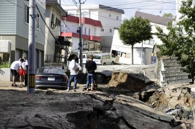 جاپان کے مغربی جزیرے ہوکیڈو میں6.7 کی شدت کا زلزلہ آیا ہے