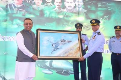 ملک و قوم کی حفاظت کی خاطر جانیں قربان کرنے والے ہی اصل ہیرو ہیں : عبدالعلیم خان