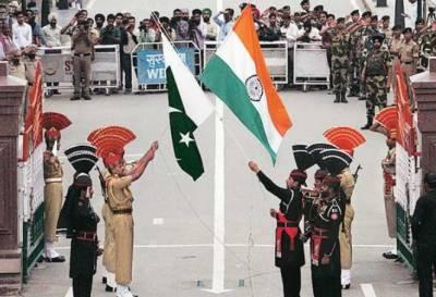 لاہور میں واہگہ بارڈر پر پرچم اتارنے کی شاندار تقریب, اللہ اکبر اور جیوے جیوے پاکستان کے فلگ شگاف نعرے بلند