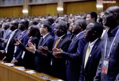 افریقہ میں چین کی60 بلین ڈالر کی سرمایہ کاری