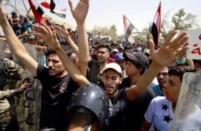 عراق میں احتجاجی مظاہرے شدت اختیار کر گئے،