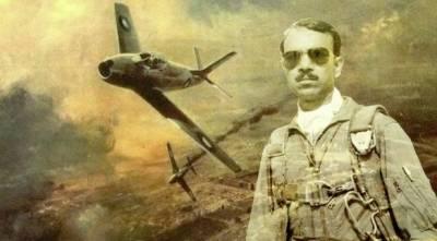 پاک فضائیہ کے اس شاہین نے جنگ ستمبر میں ایک منٹ میں5 بھارتی طیارے گرا کر عالمی ریکارڈ بنایا۔