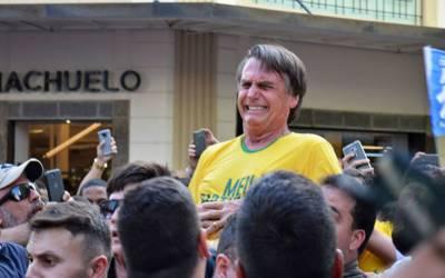 برازیل:صدارتی امیدوار انتخابی مہم کے دوران چاقو حملہ میں زخمی