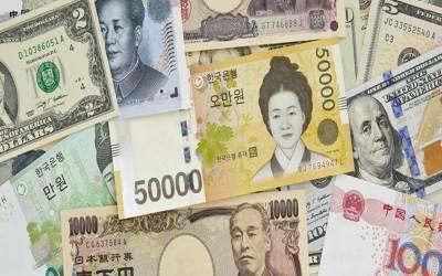 ایشیائی فوریکس میں جاپانی ین کا راج،ڈالر، پائونڈ اور یورو گر گئے۔