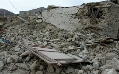 ایران: صوبہ زاہدان میں زلزلے کے جھٹکے، ریکٹر سکیل پر شدت 5.6ریکارڈ