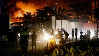 عراقی شہر بصرہ میں حکومت مخالف مظاہروں کے بعد کرفیو نافذ