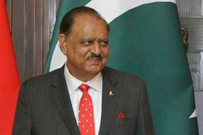 President Mamnoon Hussain's term ends today