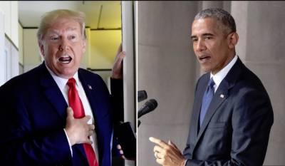 سابق امریکی صدر باراک اوباما نے بھی ڈونلڈ ٹرمپ کوتنقید کا نشانہ بناڈالا
