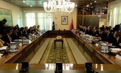 پاکستان اور چین نے اسٹریٹجک تعاون پرمبنی شراکت داری کو مزید مستحکم کرنے کے عزم کا اعادہ کیا ہے