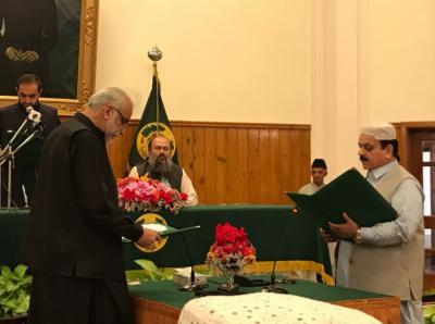 بلوچستان کی کابینہ میں اضافہ ہوگیا، بلوچستان کابینہ کے مزید دو وزراء نے اپنے عہدے کا حلف اٹھا لیا