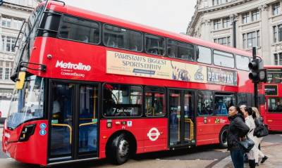 پاکستان سُپر لیگ کی معروف فرنچائز پشاور زلمی کے اشتہار والی ڈبل ڈیکر بس اب لندن کی سڑکوں پر رواں دواں ہے۔