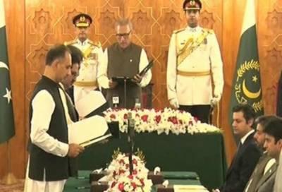 کابینہ میں شامل تین وفاقی وزراء اور تین وزرائے مملکت نے حلف اٹھا لیا
