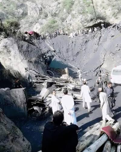 درہ آدم خیل اخور وال میں کوئلے کی کان میں گیس بھر جانے سے دھماکہ