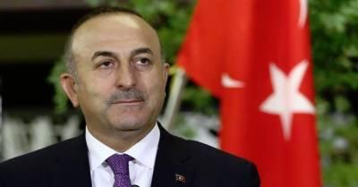 ترکی کے وزیرخارجہ Mevlut Cavusoglu اپنے پاکستانی ہم منصب شاہ محمودقریشی کی دعوت پر دوروزہ دورے کے لئے آج پاکستان پہنچ رہے ہیں