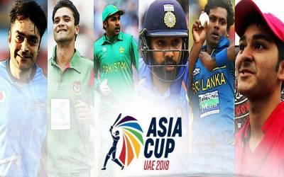 ایشیا کپ کرکٹ ٹورنامنٹ 2018 ہفتے سے دبئی میں شروع ہوگا.