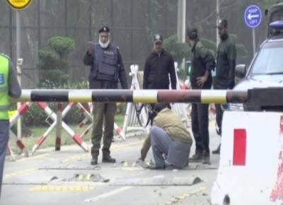 بیگم کلثوم نواز کی تدفین کیلئے سیکیورٹی کے فول پروف انتظامات کئے گئے ہیں