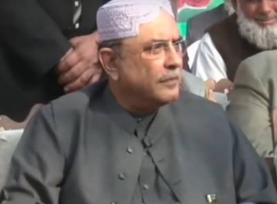 سابق صدر آصف زرداری کا ایمل عمر کی ہلاکت کا سخت نوٹس وزیر اعلیٰ سے رپورٹ طلب