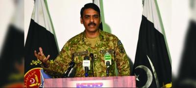 ترجمان پاک فوج میجر جنرل آصف غفور نے بھارتی آرمی چیف کی گیدڑ بھبکی کا منہ توڑ جواب دیدیا