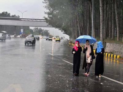 پنجاب کے مختلف علاقوں میں بارش کا سلسلہ شروع