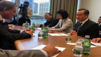 وزیرخارجہ،چینی ہم منصب کاجنوبی ایشیا کی موجودہ تذویراتی صورتحال پرتبادلہ خیال