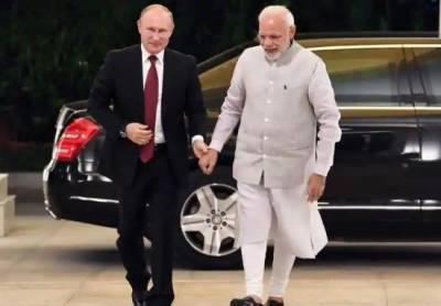 روسی صدر دو روزہ دورے پر بھارت پہنچ گئے