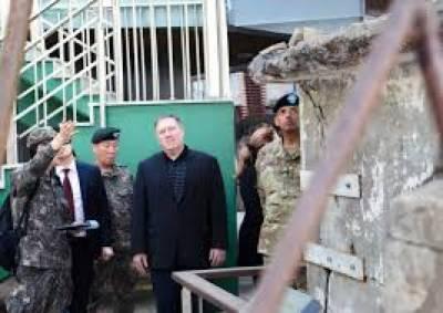 شمالی کوریاکےسربراہ کم جونگ ان سےملاقات ہوئی،امریکی وزیرخارجہ مائیک پومپیو