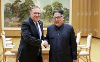 شمالی کوریا کے صدر کی امریکی وزیر خارجہ سے ملاقات