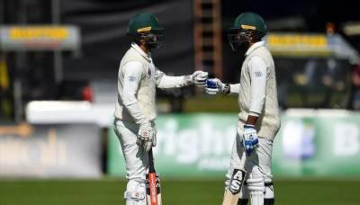 پاکستان کی آسٹریلیا کے خلاف دبئی ٹیسٹ کے دوسرے روز بیٹنگ جاری