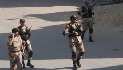 رینجرز نے کراچی کے مختلف علاقوں میں گینگ وار کارندے سمیت پانچ ملزمان گرفتار کرلیے